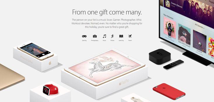 Apple publica un ghid de cadouri pentru fanii sai | iDevice.ro