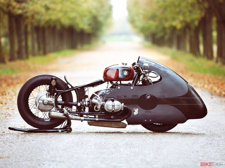 "BMW special racing motorcycle - ""SprintBeemer"", built by Lucky Cat Garage for sprint races."