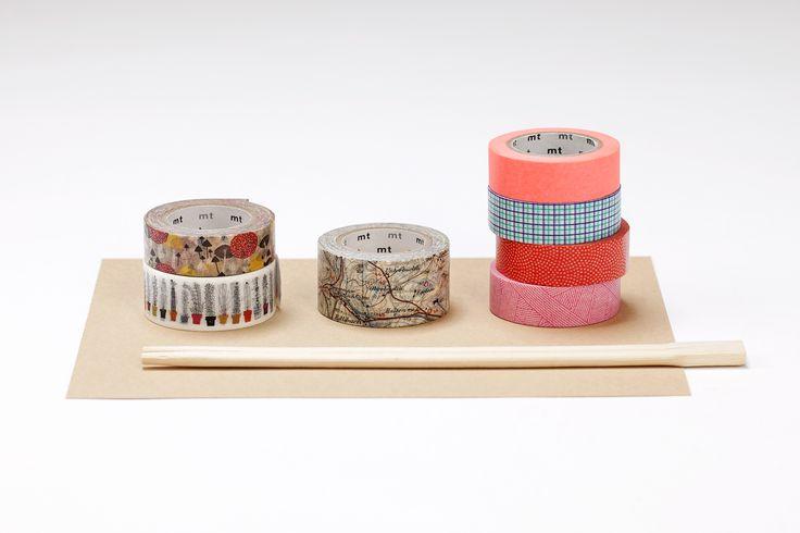 MT pásky, Mt tapes, washi tapes, designové, japonské dekorační lepicí pásky z rýžového papíru, transparentní, popisovatelné, odnímatelné, hravé dekorace, papelote - nové české papírnictví