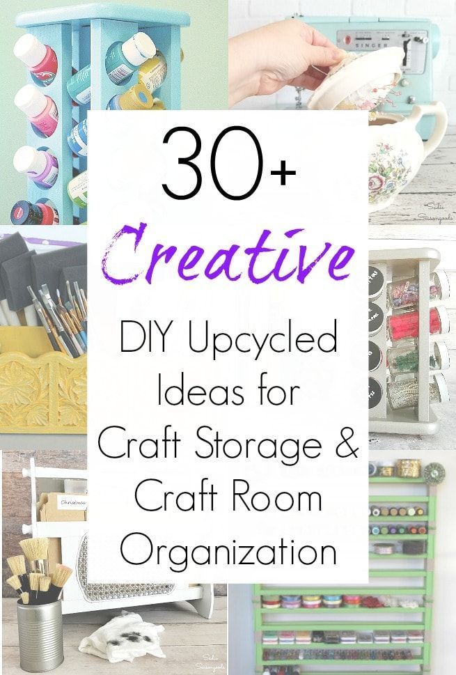 Craft Storage Ideas And Organizing Craft Supplies On A Budget In