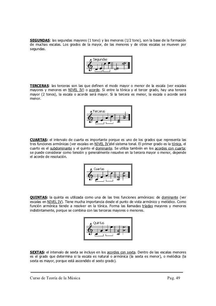 Curso Completo De Teoría De La Música Pdf Teoria De La Musica Teoría Musical Cursillo