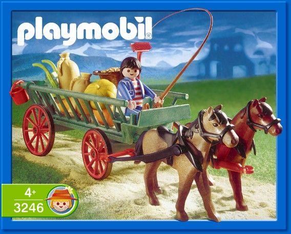 Playmobil horse cart.