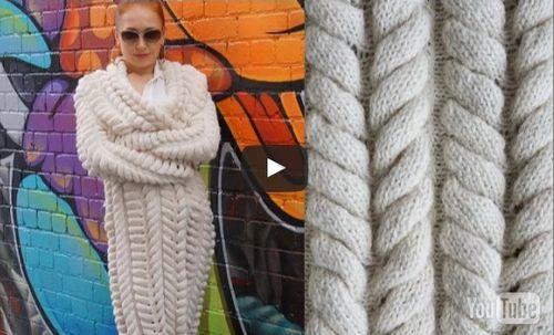 """Кардиган из азиатских колосков Видео. Эту модель вязаного кардигана еще называют """"шиншилла"""" из-за его объемного вида и цветового решения."""
