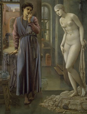Pygmalion and the Image - The Hand Refrains by Sir Edward Burne-Jones