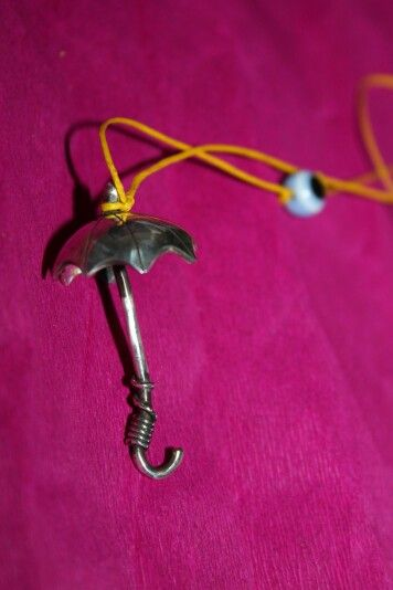 Umbrella necklaces