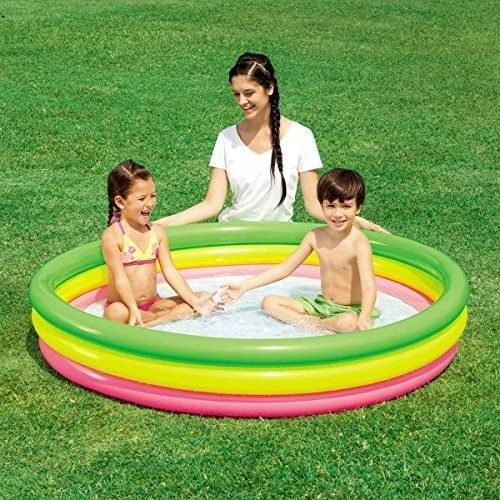 Above Ground Swimming Pool Inflatable kids Baby Garden Outdoor Yard Summer Water