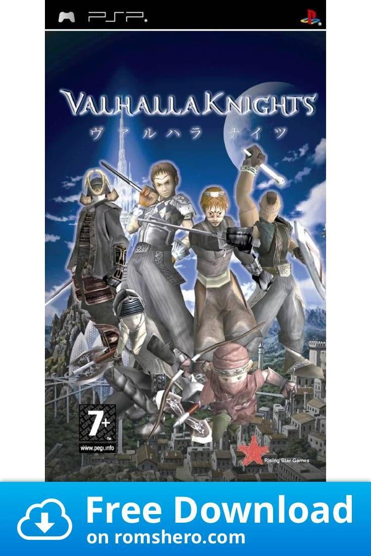 Download Valhalla Knights Playstation Portable Psp Isos Rom In 2020 Playstation Portable Playstation Psp
