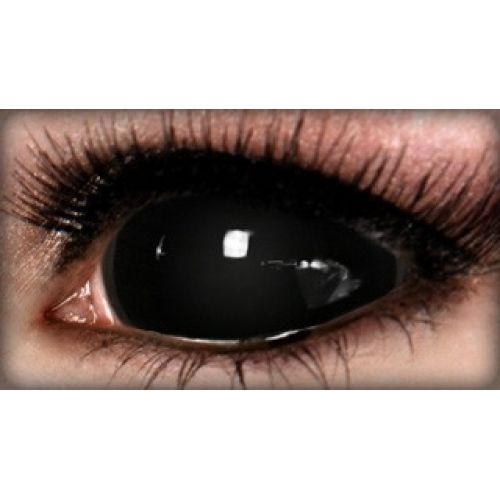 Eye contact lenses black