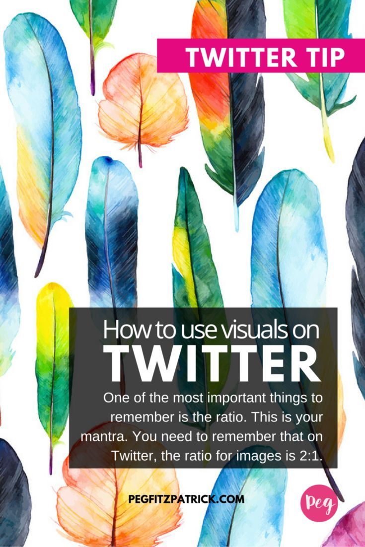 Social media is all about the VISUALS. Our mind is just better at capturing images than text.