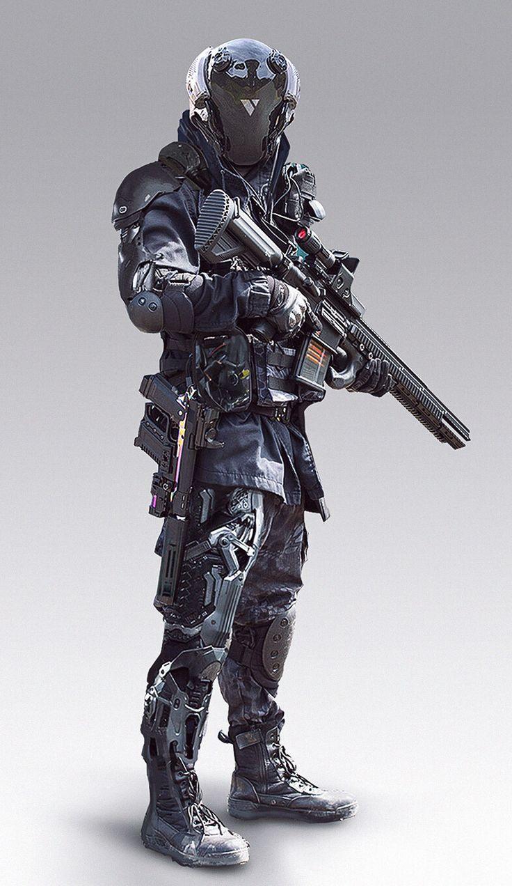 ArtStation – Tactical Unit – 1, Abrar Khan