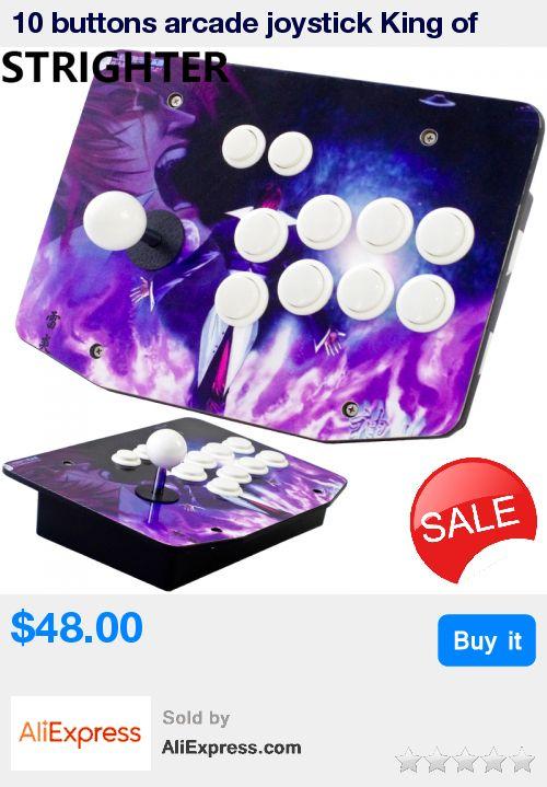10 buttons arcade joystick King of fighters pc controller computer game Arcade Sticksss Joystick Consoles * Pub Date: 00:54 Aug 15 2017