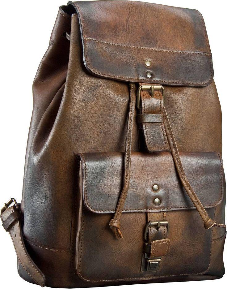 Taschenkaufhaus Jost Randers 2447 Rucksack Cognac - Rucksack / Daypack: Category: Taschen & Koffer > Rucksack / Daypack > Jost…%#Taschen%
