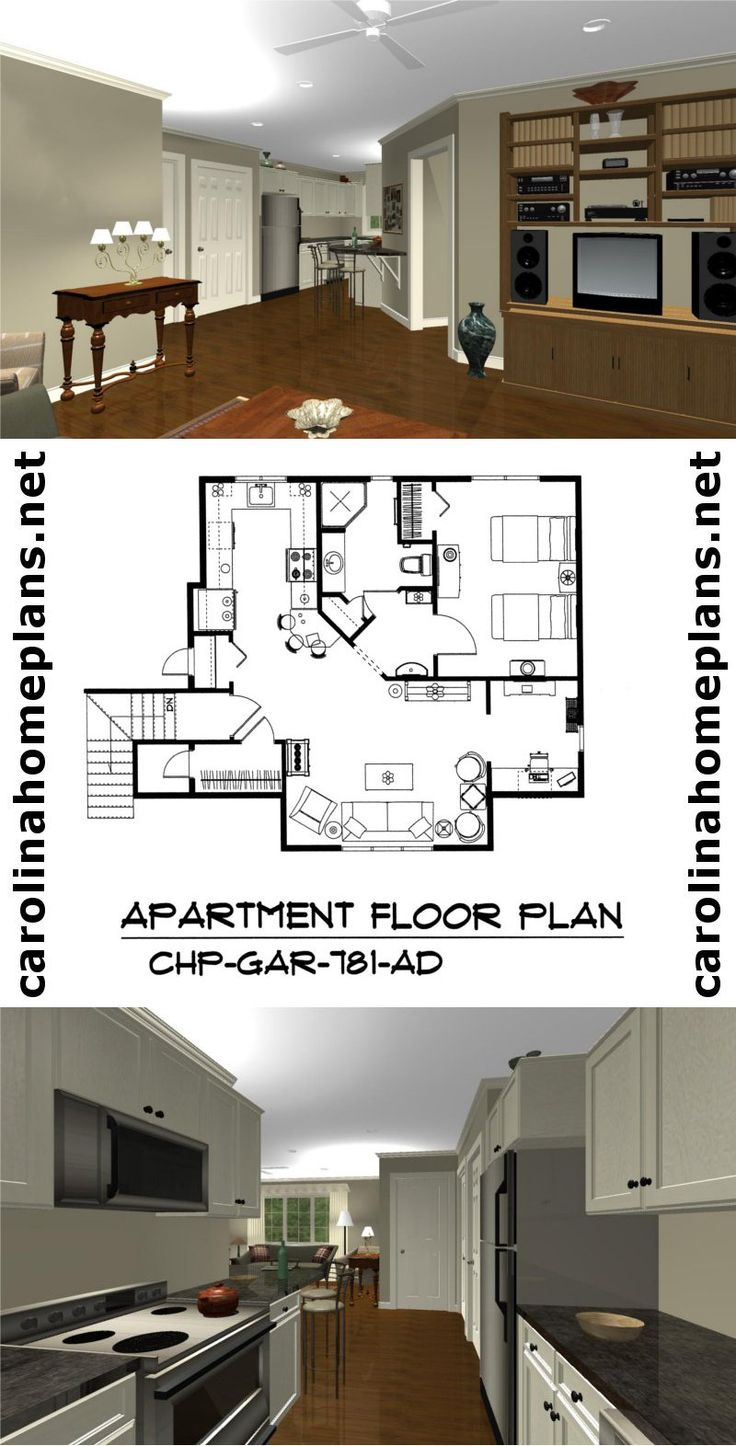 24 best build in stages images on pinterest craftsman for Open floor plan garage apartment