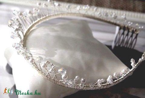 Meska - Kristályos tiara_2 Aggies kézművestől