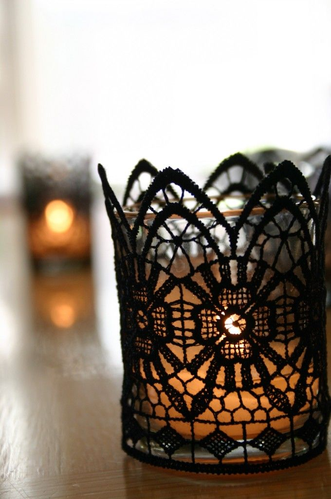 lace votives
