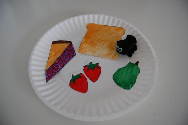 picnic art lessons   Use this fun little ant craft as a follow-up art project after reading ...