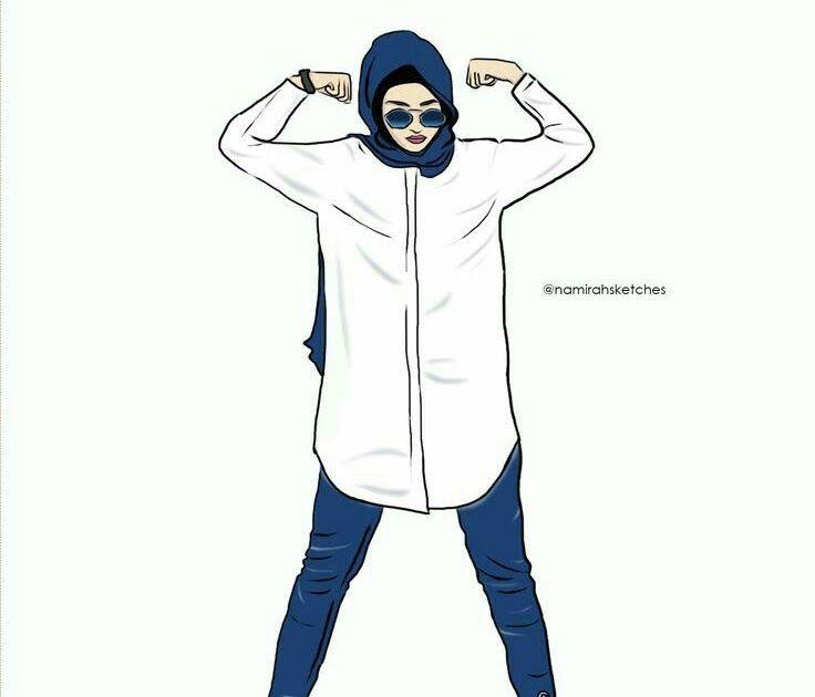 25 Gambar Kartun Hijab Tomboy Berbagai Gambar Kartun Serta Lain Sebagainya Yang Intinya Dapat Kalian Gunakan Sebagai Bahan Kartun Hijab Kartun Gambar Kartun