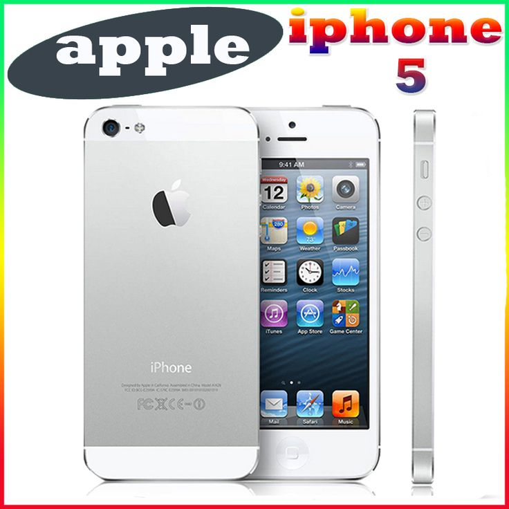 ==> [Free Shipping] Buy Best Original Unlocked Apple iPhone 5 Mobile Phone 4.0 inches Dual Core 16GB/32GB/64GB 8MP Camera WIFI GPS 3G IOS Cell Phones Online with LOWEST Price | 32789709963