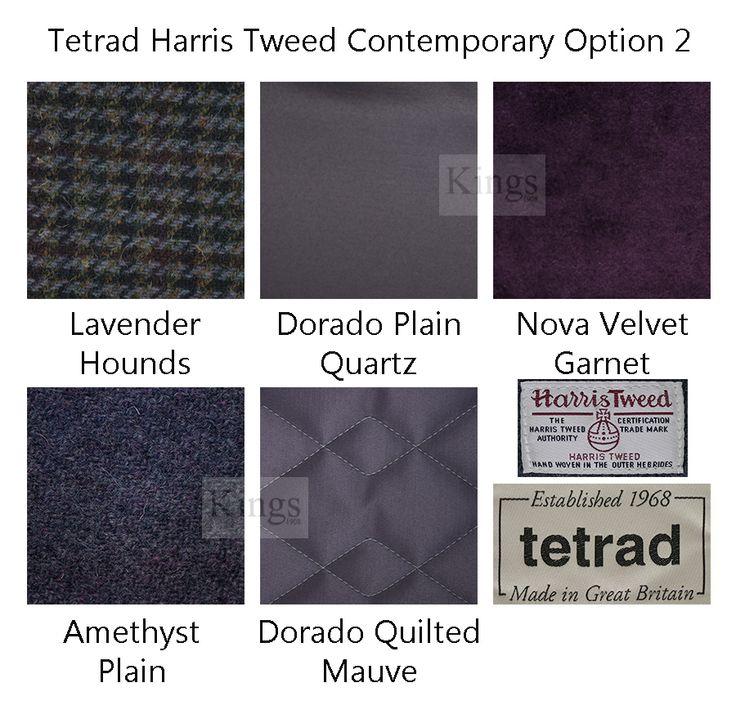 Option choice 2 for the latest range of #furniture Nucleus, Noah and Draper www.kingsinteriors.co.uk/brands/tetrad-harris-tweed