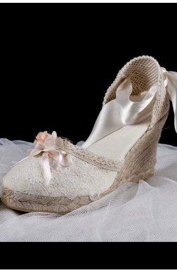 Horiginales! Alpargata para novias y bodas modelo Romántica
