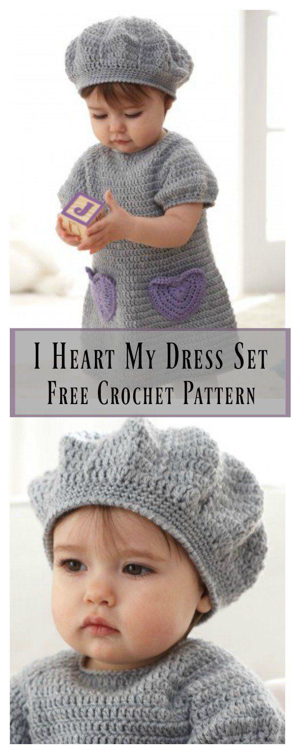 I Heart My Dress Set Free Crochet Pattern