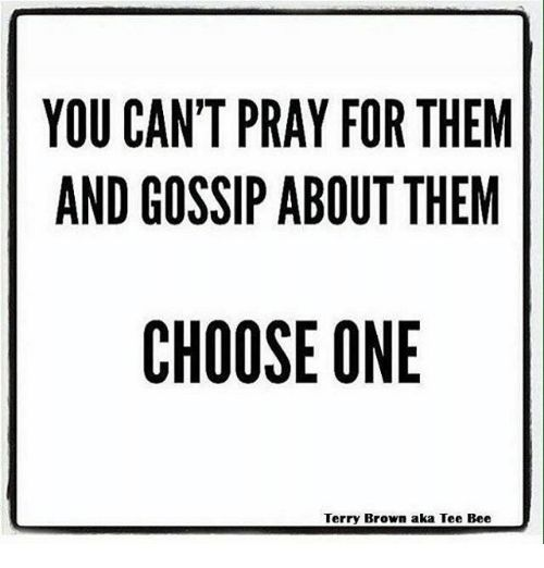Image result for gossip in the bible meme
