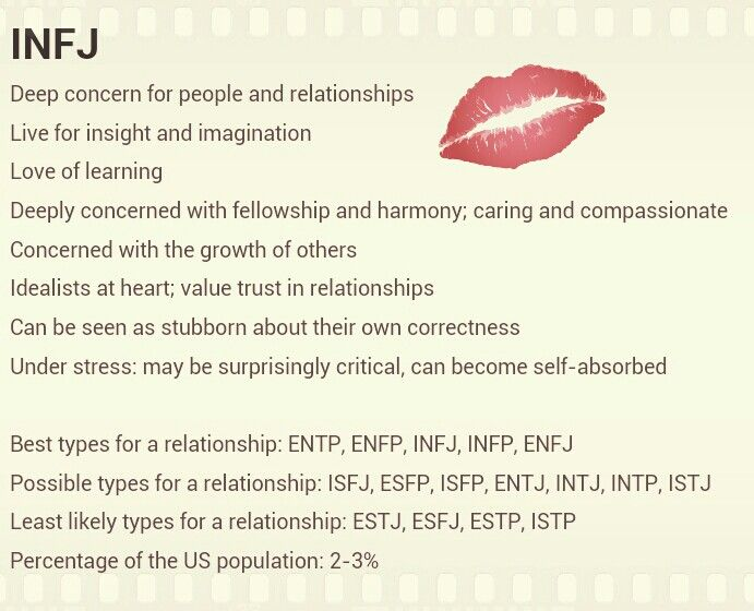 Infj and esfp dating