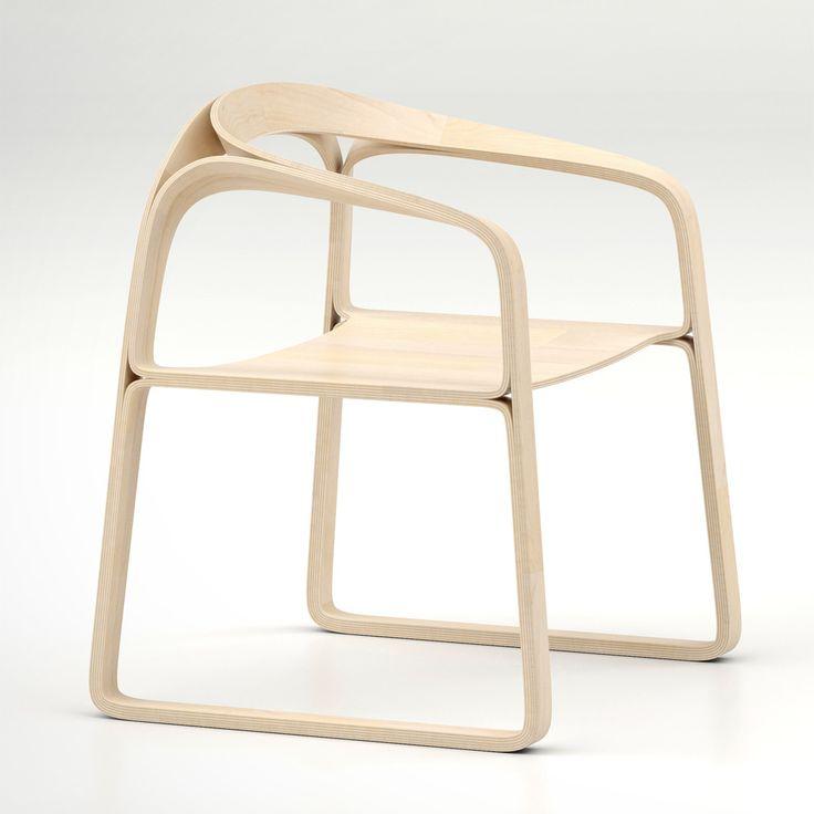 246 best chair images on pinterest | dining chairs, chair design ... - Designer Mobel Timothy Schreiber Stil