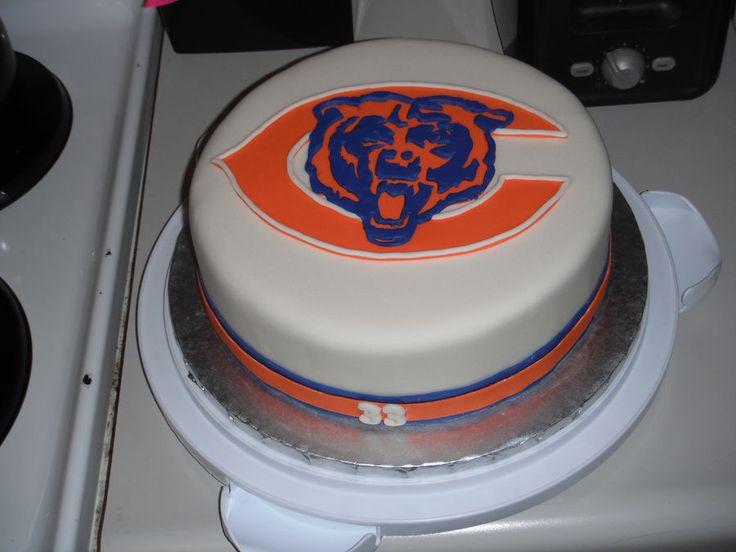 Chicago Bears Cake cakepins.com