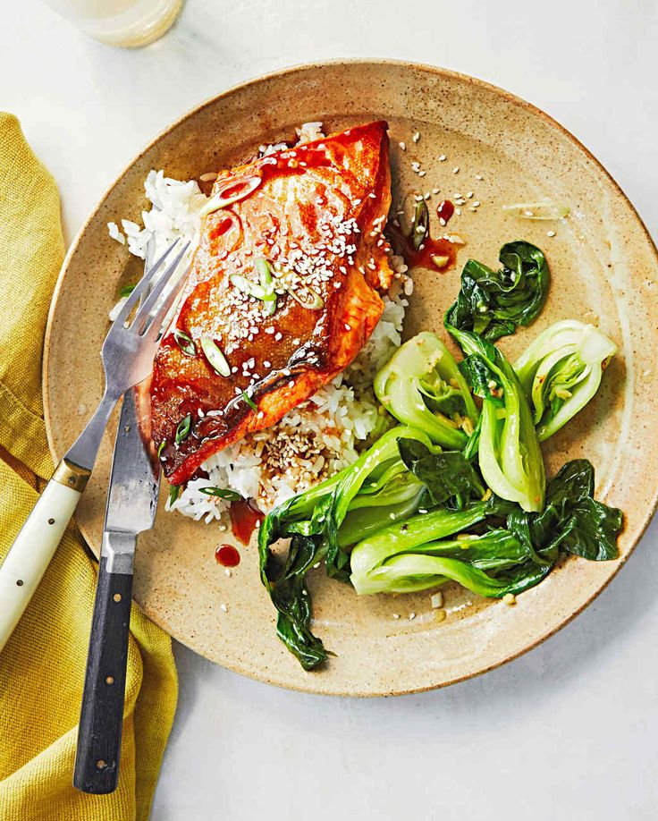 Soy-Honey-Glazed Arctic Char | Martha Stewart | 30 minute meals #salmon #fish #healthy