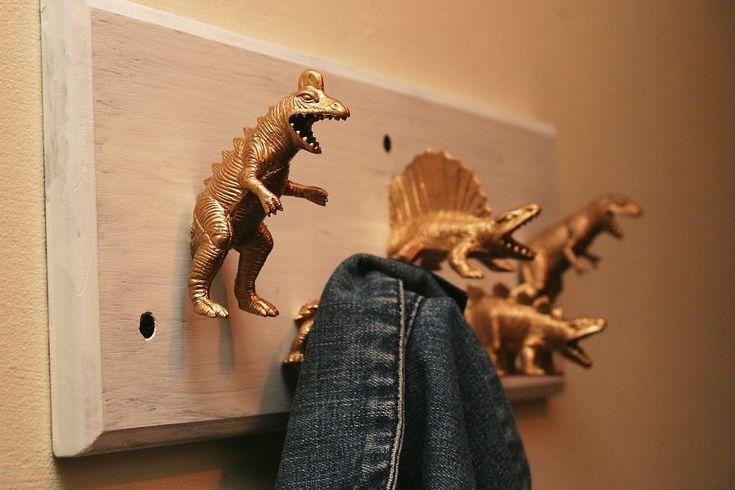 Como fazer um cabideiro de Dinossauro                                                                                                                                                                                 Mais
