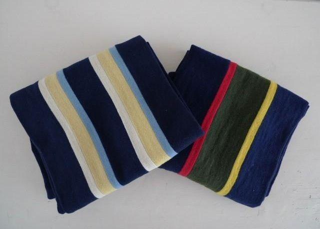 College Sjaals. Zelfs even in de mode bij niet kakkers halverwege jaren 80. Ik heb er ook een gehad.