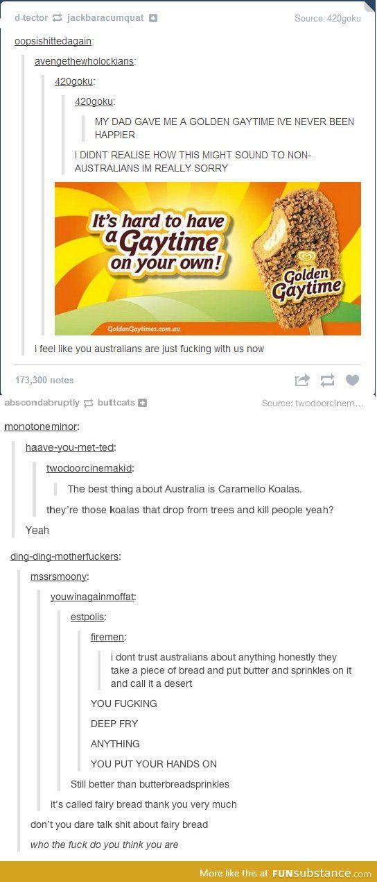 Tumblr on Australia