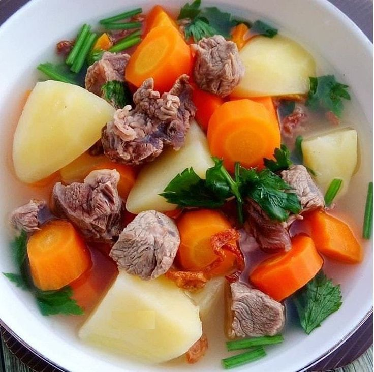 Resep Sop Daging Sapi | Resep | Resep masakan, Masakan ...
