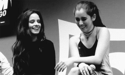 Camren // Camila Cabello and Lauren Jauregui (GIF)
