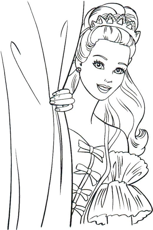 The 25 Best Ideas About Barbie Coloring Pages On