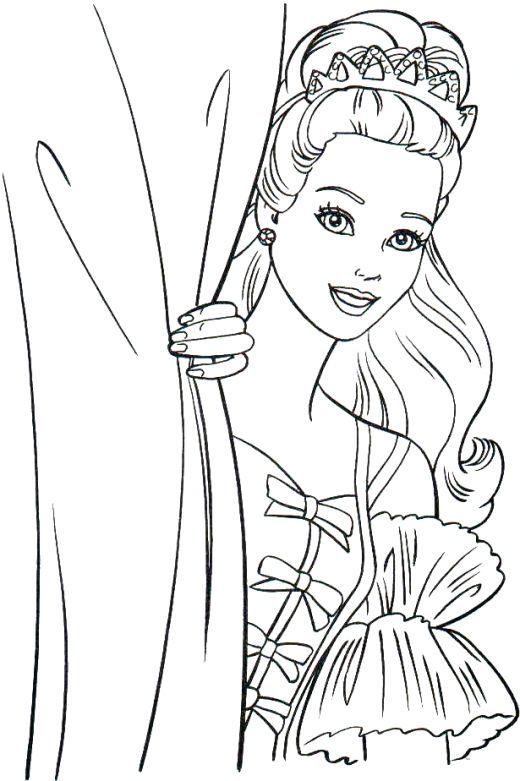 Best 25+ Barbie coloring pages ideas on Pinterest