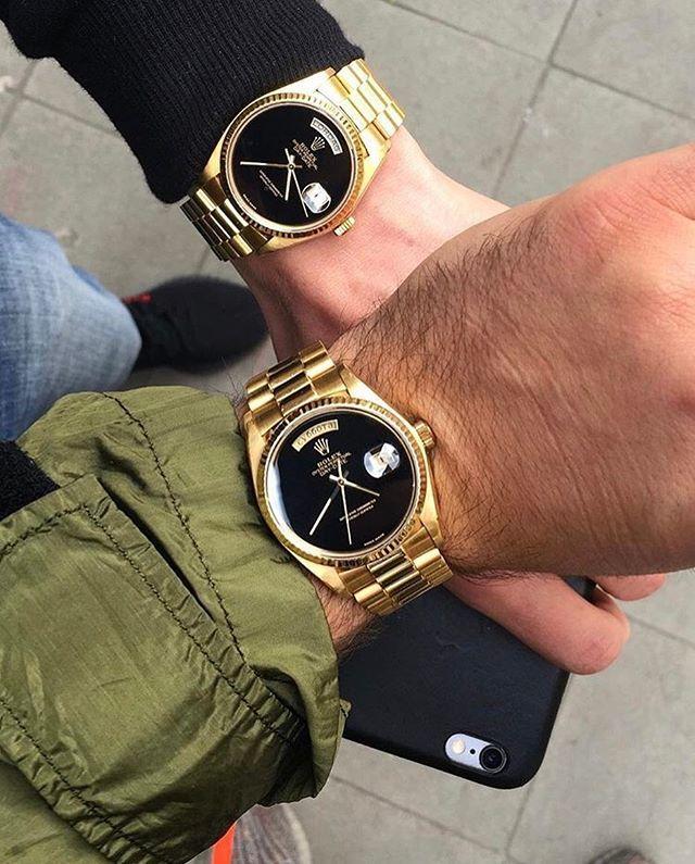 REPOST!!!  🖤 Double trouble 🖤 ~ ~ ~ ~ 📷  Via @alekswatches ~ ~ ~ #hooked2luxury ~ ~ ~  #watches#swissmade#patek#luxurywatches#luxurywatch#wristshot#dailywatch#watchesofinstagram#watchcollector#watchoftheday#watchaddict#watchmania#hermes#watchfam#watchporn#wristwatch#relogio#orologio#montre#timepiece#watchlover#watch#rolex#bracelets#instawatch#richardmille  Photo Credit: Instagram ID @hooked2luxury