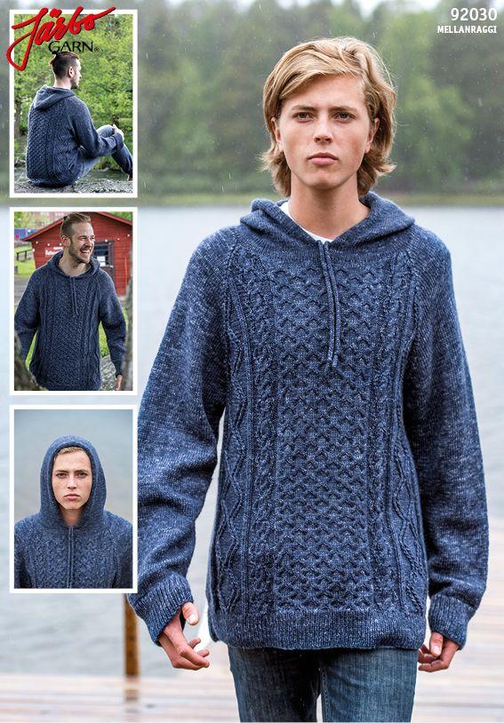 Men's hoodie.