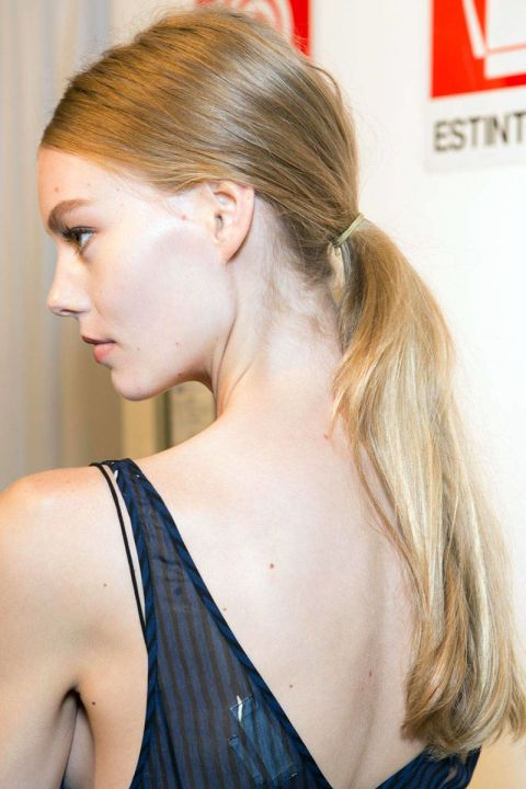 Gucci #GreatLengths #ponytail #hairstyle #blonde