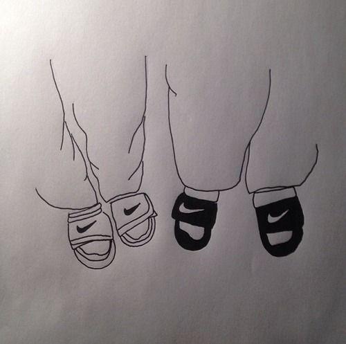 #nike #slides #drawing   Nike fashion sneakers editorial ...