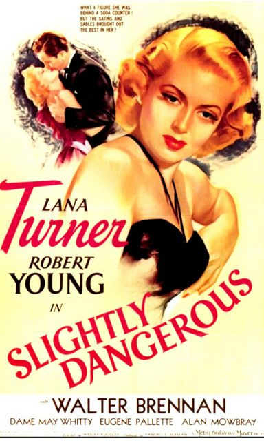 """(1921 - 1995)  Lana Turner had an acting ability that belied the """"Sweater Girl"""" image MGM thrust upon her."""