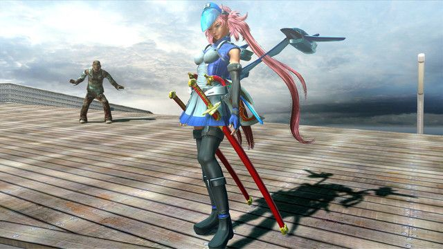 """Crunchyroll - """"Onechanbara Z2: Chaos"""" Defends the Planet with """"Earth Defense Force"""" Pre-Order Bonuses"""