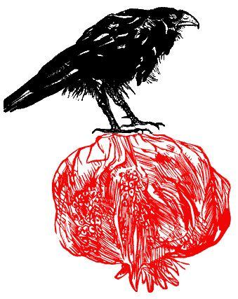 Leonard Baskin, Crow Print