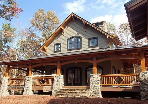 Rugged and Rustic Inside and Out - 18802CK | 1st Floor Master Suite, Country, Craftsman, Den-Office-Library-Study, Jack & Jill Bath, Loft, MBR Sitting Area, Mountain, Northwest, PDF, Photo Gallery, Vacation, Wrap Around Porch | Architectural Designs