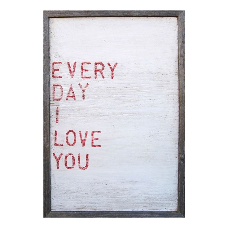 Sugarboo Designs Art Print Everyday I Love You - Purple Rose Home