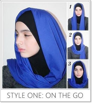 simple style hijab tutorial