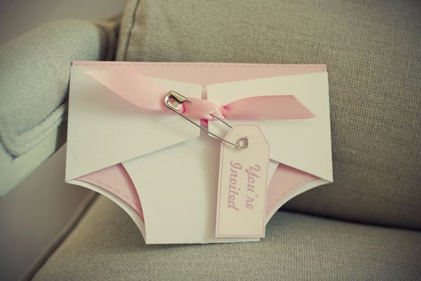 Cute invitation for Baby Shower.