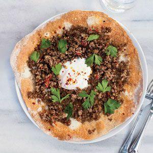 15 Ground Lamb Recipes ♥ Turkish Ground Lamb Pizzas