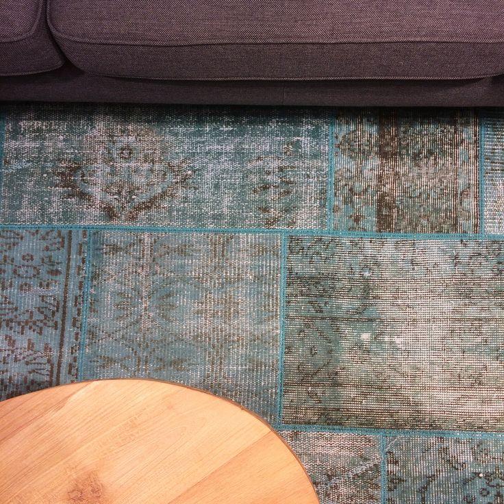 NIEUW! - Prachtig is dit nieuwe gerecyclede Turkse vloerkleed Laurier! Het vloerkleed is gemaakt van wol en katoen en is in verschillende kleuren en maten leverbaar! Kom snel een kijkje nemen in onze winkel aan de Anegang! - www.schatkamer.com